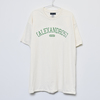 【NEW】Vintage Style T-Shirt(Natural×Green)