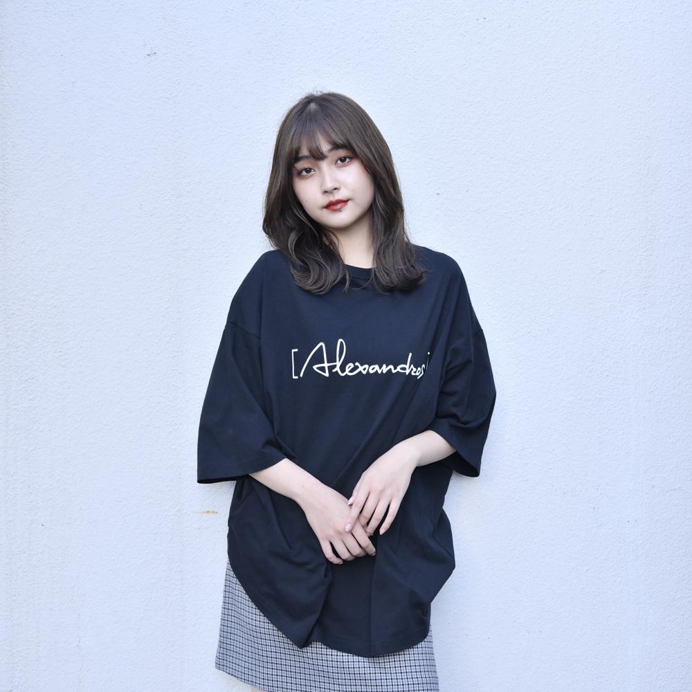 【NEW】Logo Oversized T-Shirt(Black)