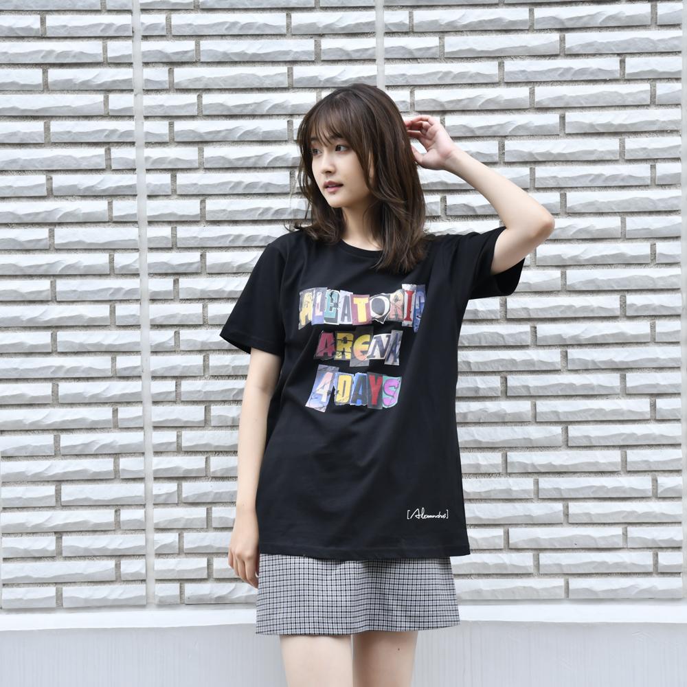 【NEW】Font Logo Tee(Black)