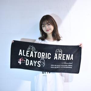 【NEW】ALEATORIC ARENA 4 DAYS Towel(Black)