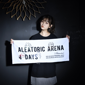 【NEW】ALEATORIC ARENA 4 DAYS Towel(White)