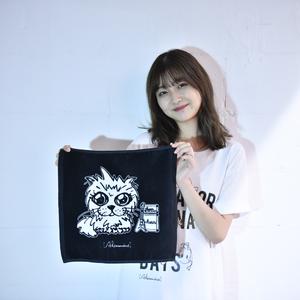 【NEW】Luan Mini Towel Ma-kun ver.(Black)