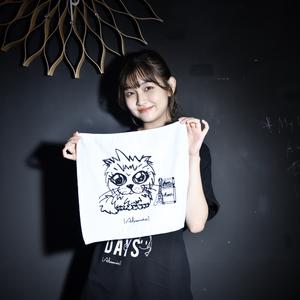【NEW】Luan Mini Towel Ma-kun ver.(White)