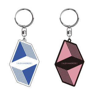【NEW】  KEYRING (BLACK&WHITE)