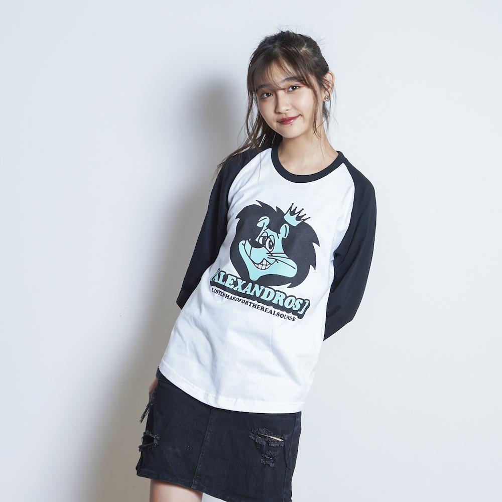 【VIP NEW】LION RAGLAN SLEEVE TEE