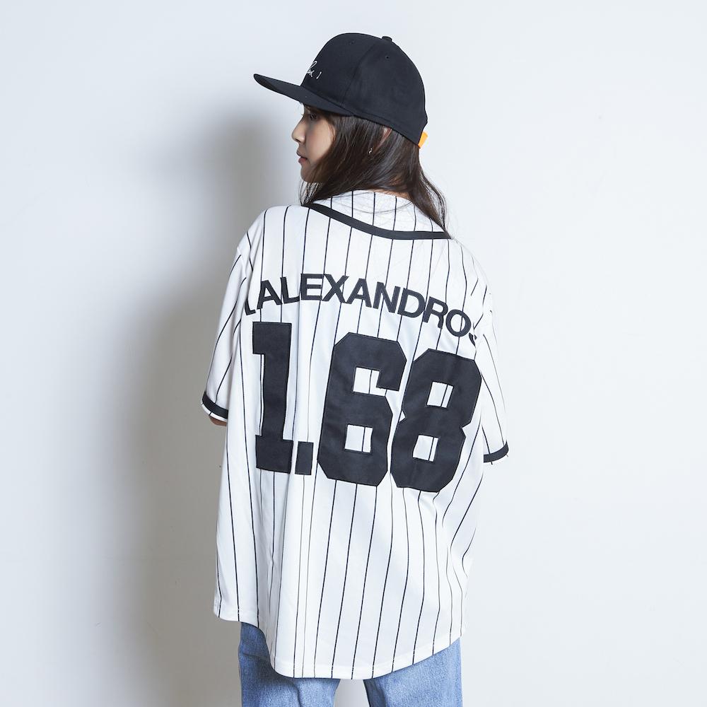 【VIP NEW】BASEBALL SHIRT (WHITE STRIPE)