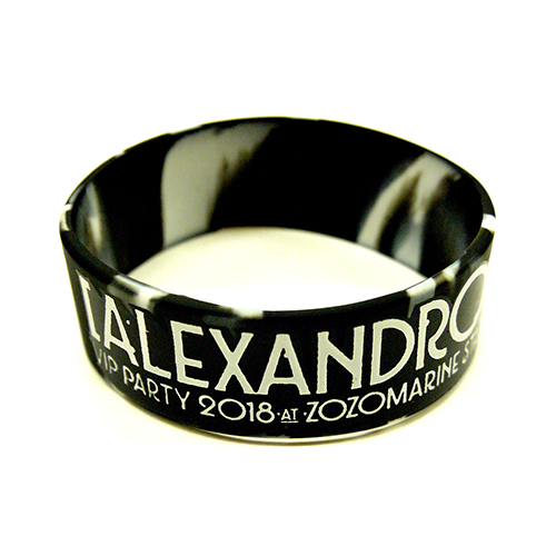 【VIP NEW】VIP PARTY 2018 RUBBER BAND (BLACK MARBLE)