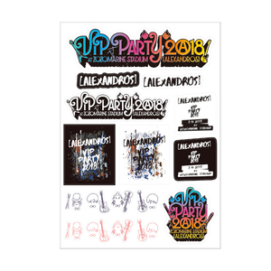 【VIP NEW】VIP PARTY 2018 STICKER