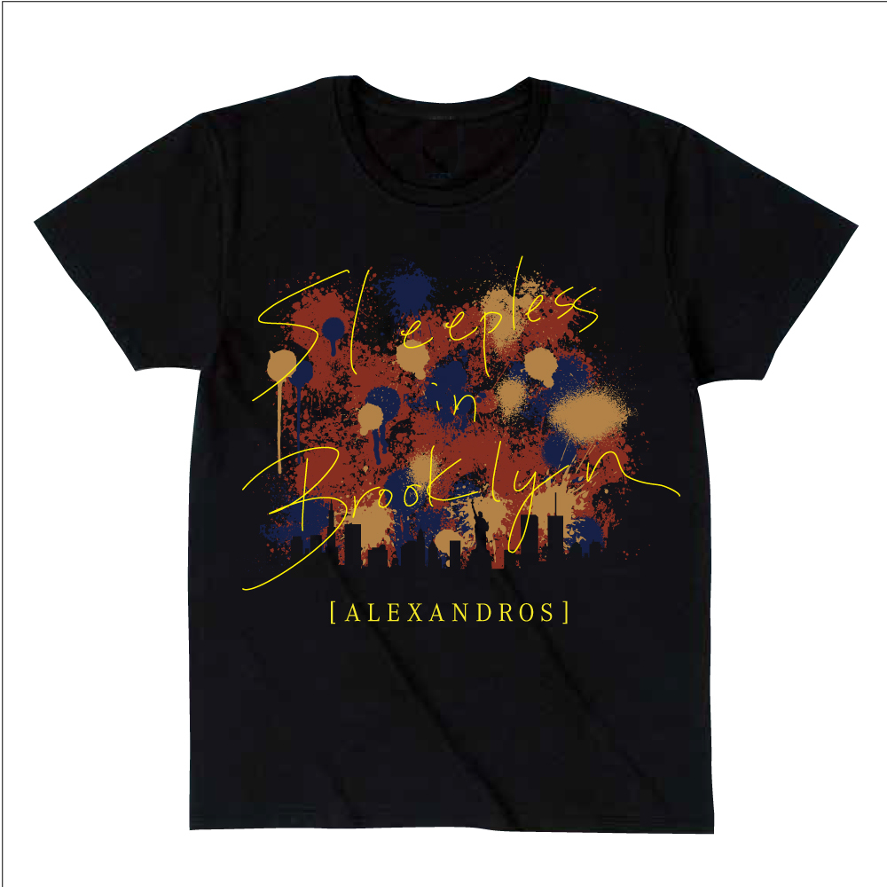 【NEW】Sleepless in Japan Tour TEE [LOGO] (BLACK)