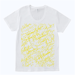 【NEW】Sleepless in Japan Tour TEE [GRAFFITI] (WHITE)
