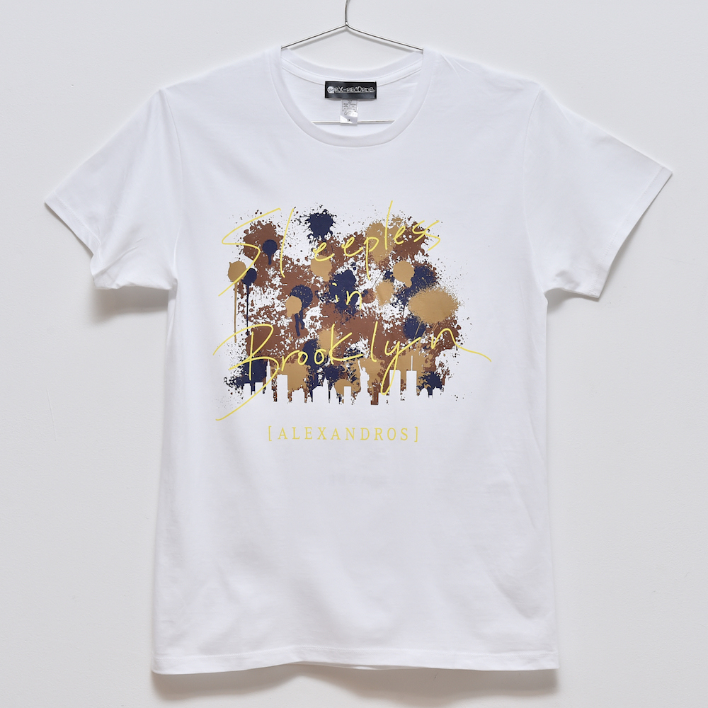 Sleepless in Japan Tour TEE [LOGO] (WHITE)