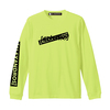 【NEW】LONG SLEEVE TEE (SAFETY GREEN)