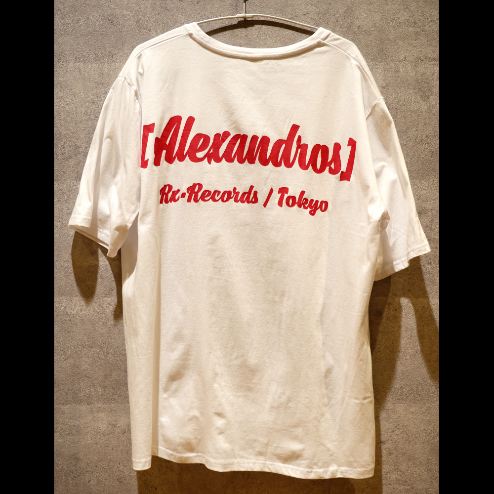 "【NEW】""PARTY IS OVER"" BIG SILHOUETTE TEE (WHITE)"