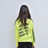 LONG SLEEVE TEE (SAFETY GREEN)