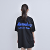 """PARTY IS OVER"" BIG SILHOUETTE TEE (BLACK)"