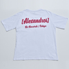 """""""PARTY IS OVER"""" BIG SILHOUETTE TEE (WHITE)"""