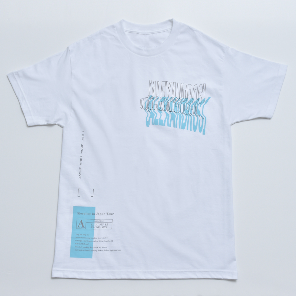SPIT! TEE (WHITE)(Sleepless in Japan Arena Tour限定)