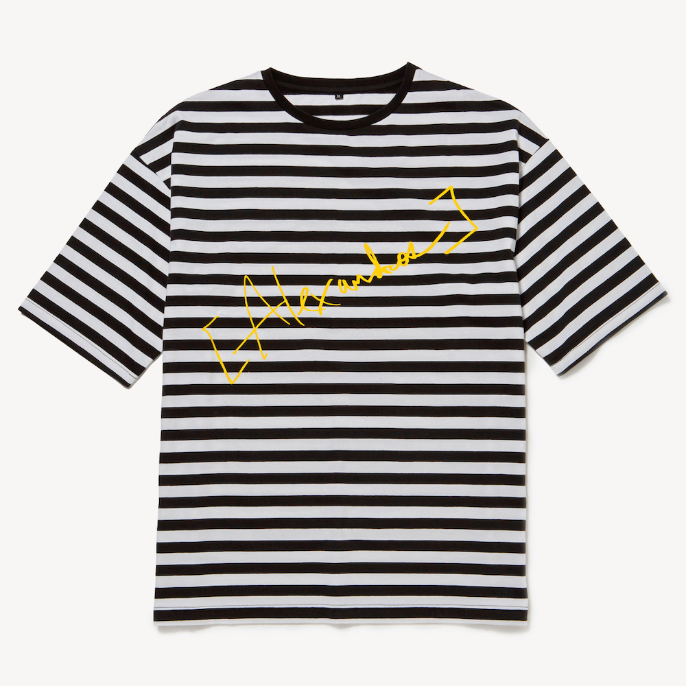【NEW】BORDER TEE (YELLOW)(Sleepless in Japan Arena Tour限定)