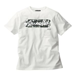 SPLIT INK LOGO TEE (WHITE)(Sleepless in Japan Arena Tour限定)