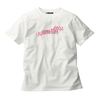 【NEW】GRAFFITI LOGO TEE (WHITE/LIGHT PINK)(Sleepless in Japan Arena Tour限定)