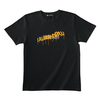 GRAFFITI LOGO TEE (BLACK/MASTARD HONEY YELLOW)(Sleepless in Japan Arena Tour限定)