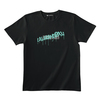 GRAFFITI LOGO TEE (BLACK/LIGHT BLUE)(Sleepless in Japan Arena Tour限定)