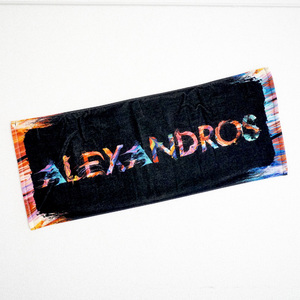 FULL COLOR LOGO FACE TOWEL