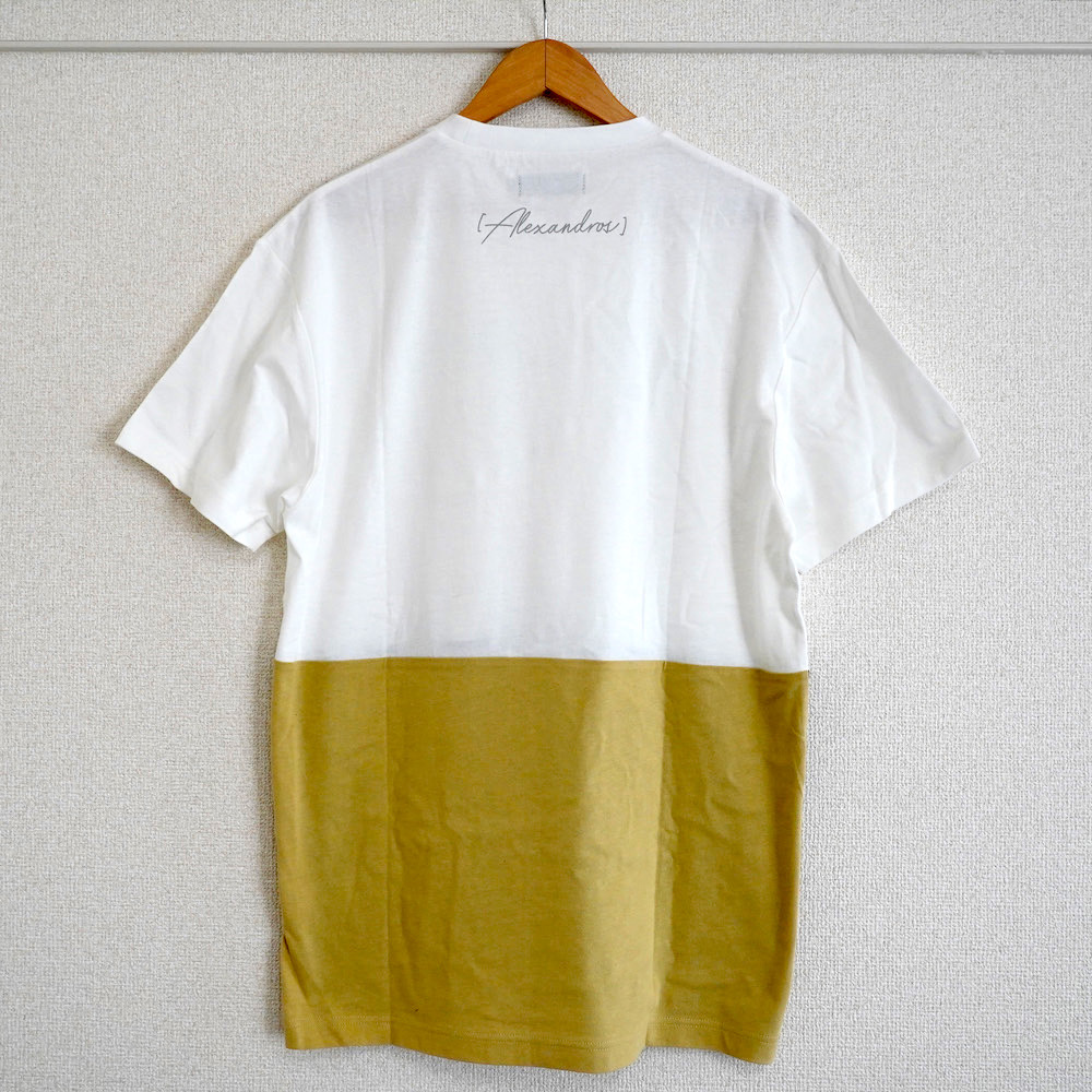 BI-COLOR TEE (BLACK/BEIGE)
