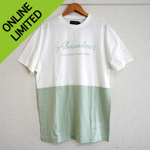 【NEW】BI-COLOR TEE (GREEN/GRAY)*UKFC ONLINE 限定販売