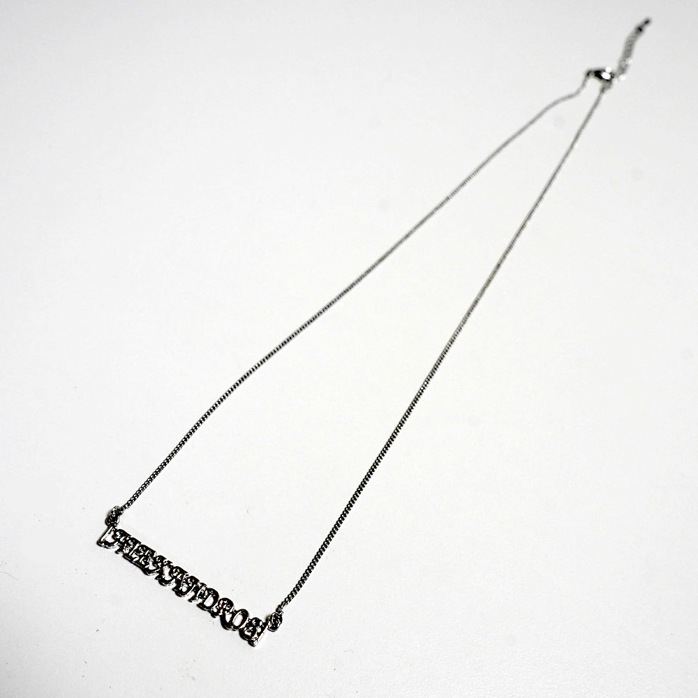 HAIRPIN & NECKLACE SET (SILVER)