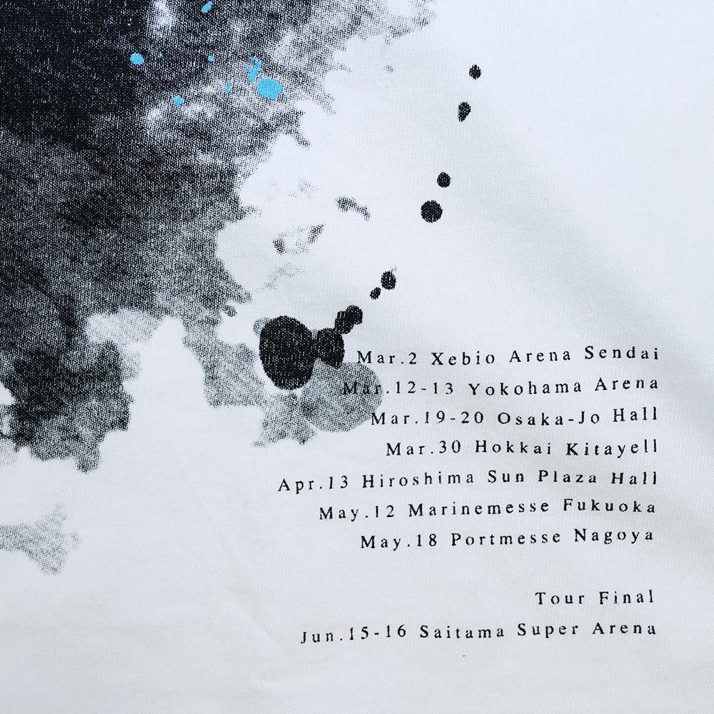 ASYMMETRY SLIT TEE (WHITE)(Sleepless in Japan Arena Tour FINAL限定)