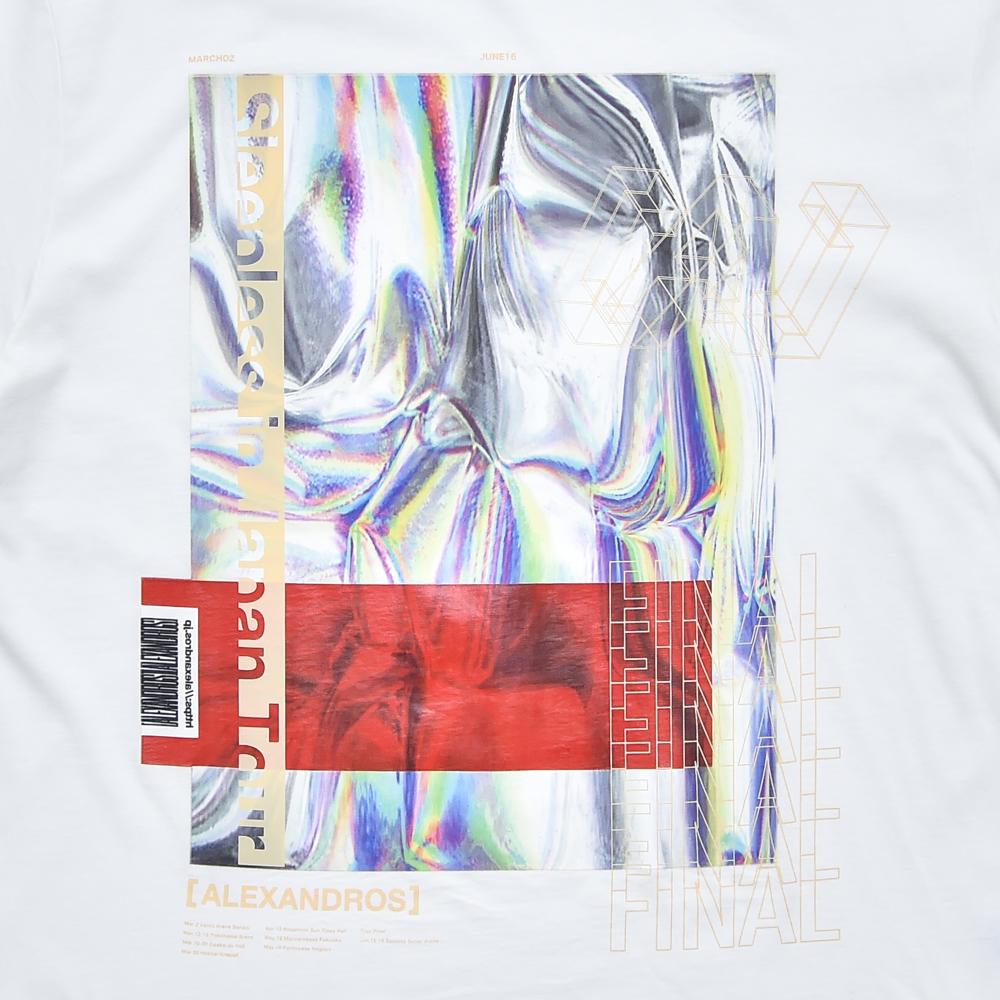 【NEW】HOLOGRAPHIC TEE (WHITE)(Sleepless in Japan Arena Tour FINAL限定)