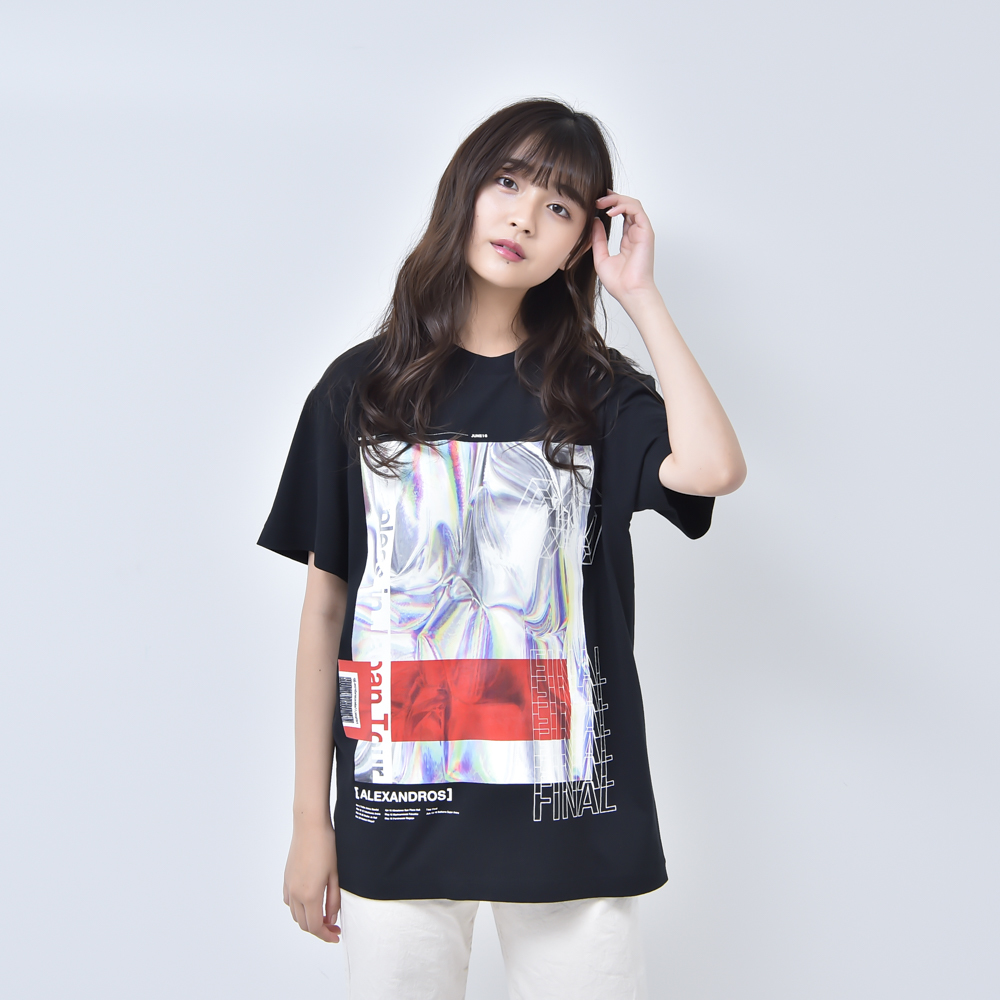 HOLOGRAPHIC TEE (BLACK)(Sleepless in Japan Arena Tour FINAL限定)