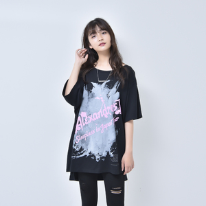 ASYMMETRY SLIT TEE (BLACK)(Sleepless in Japan Arena Tour FINAL限定)