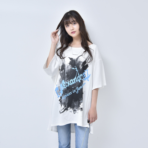 ASYMMETRY SLIT TEE (WHITE)(Sleepless in Japan Arena Tour FINAL限定)