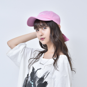 RIBBON CAP (PINK)