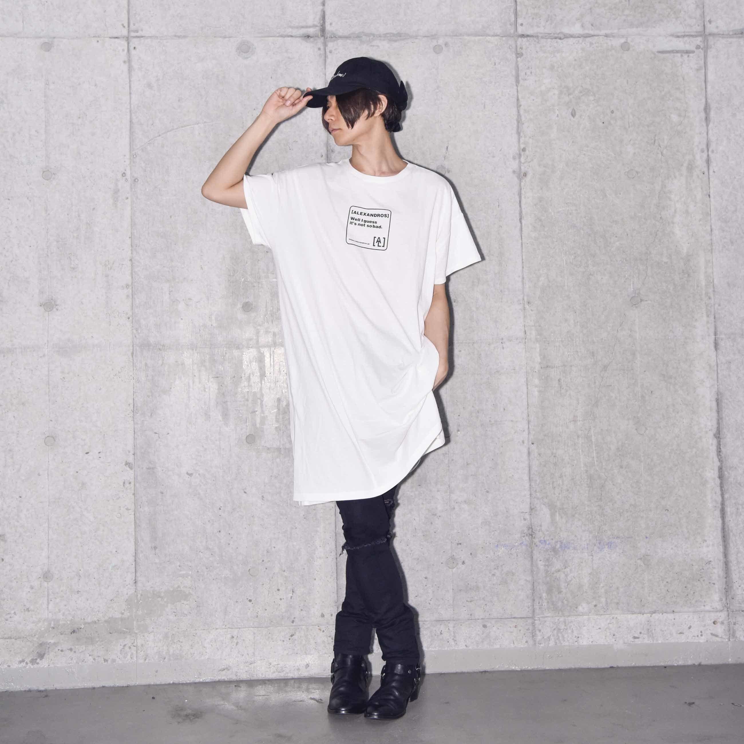 TEE DRESS (WHITE)