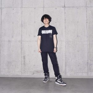 SPLIT INK LOGO TEE (BLACK)(Sleepless in Japan Arena Tour限定)