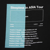 Sleepless in ASIA Tour TEE(BLACK)*UKFC ONLINE SHOP ONLY