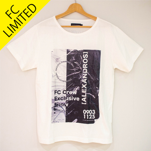 【NEW】FC LIVE LIMITED TEE(WHITE)*FC LIVE 会場販売ONLY