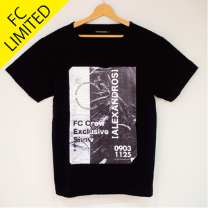 【NEW】FC LIVE LIMITED TEE(BLACK)*FC LIVE 会場販売ONLY