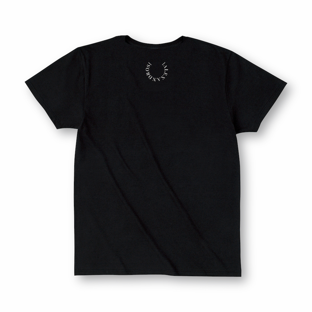 DIRTY FLOWER TEE(BLACK)