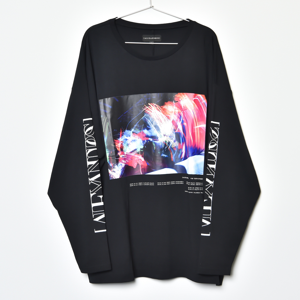 LONG SLEEVE TEE (BLACK)