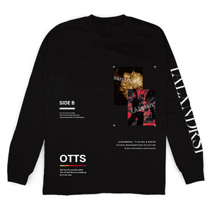 WINTER FEST. LONG SLEEVE TEE(BLACK)
