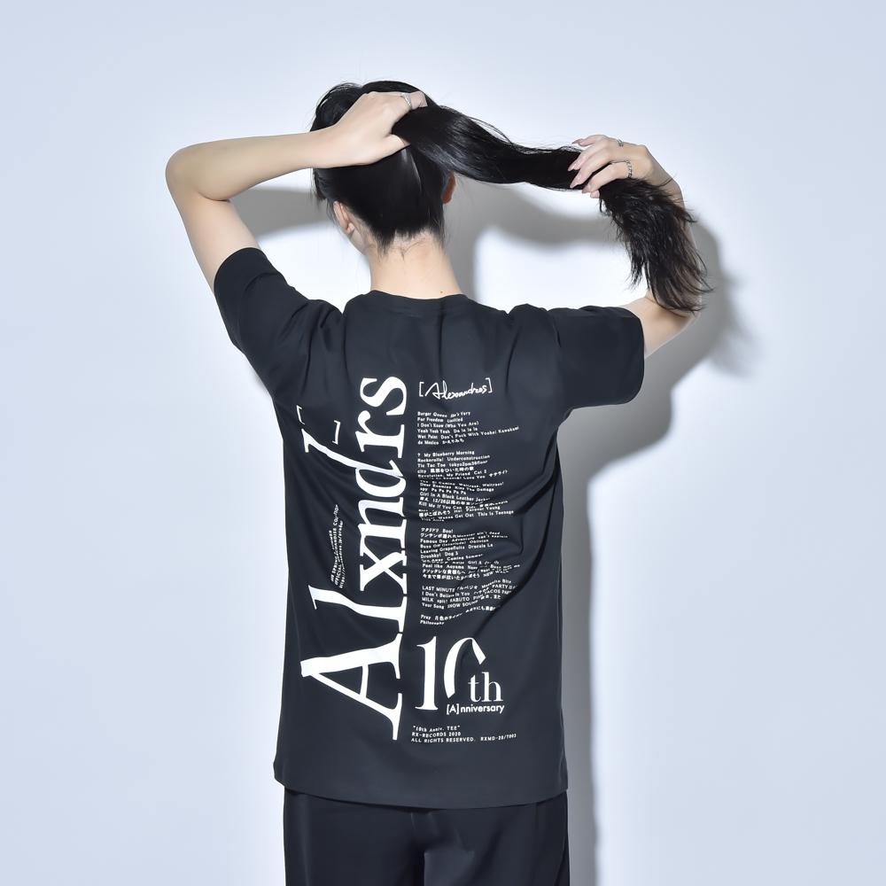 10th Anniv. TEE(BLACK)