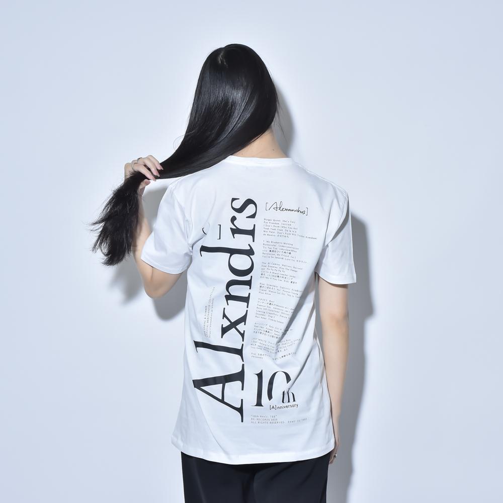 10th Anniv. TEE(WHITE)