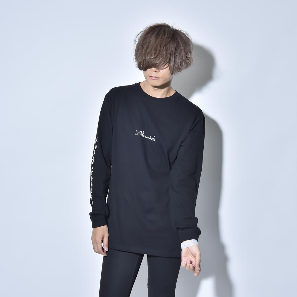 FLASHBACK LONG SLEEVE TEE(BLACK)