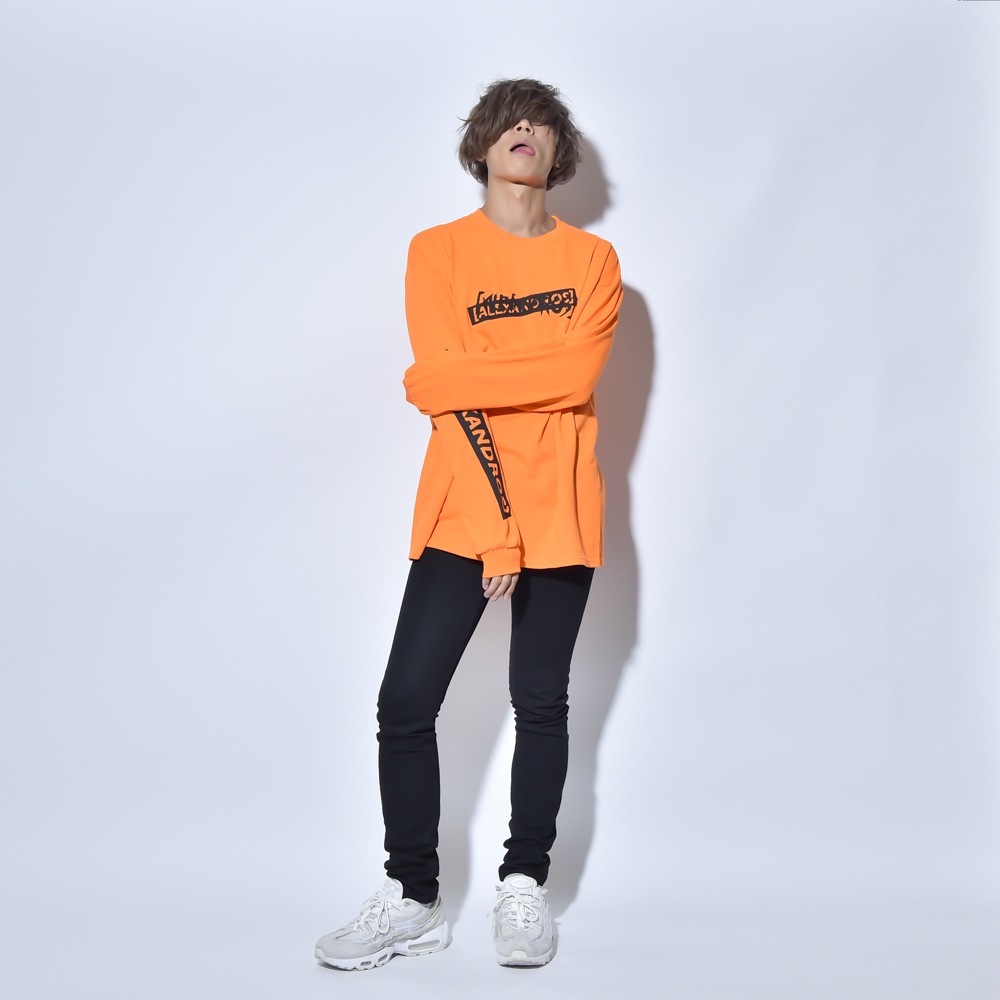 【NEW】LONG SLEEVE TEE(ORANGE)