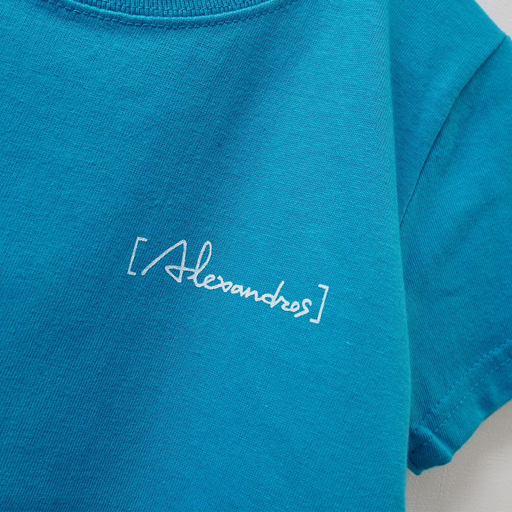 10th Anniv. Limited TEE (Kids size/TURQUOISE)