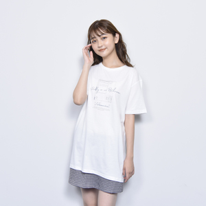 BED ROOM TEE(WHITE)